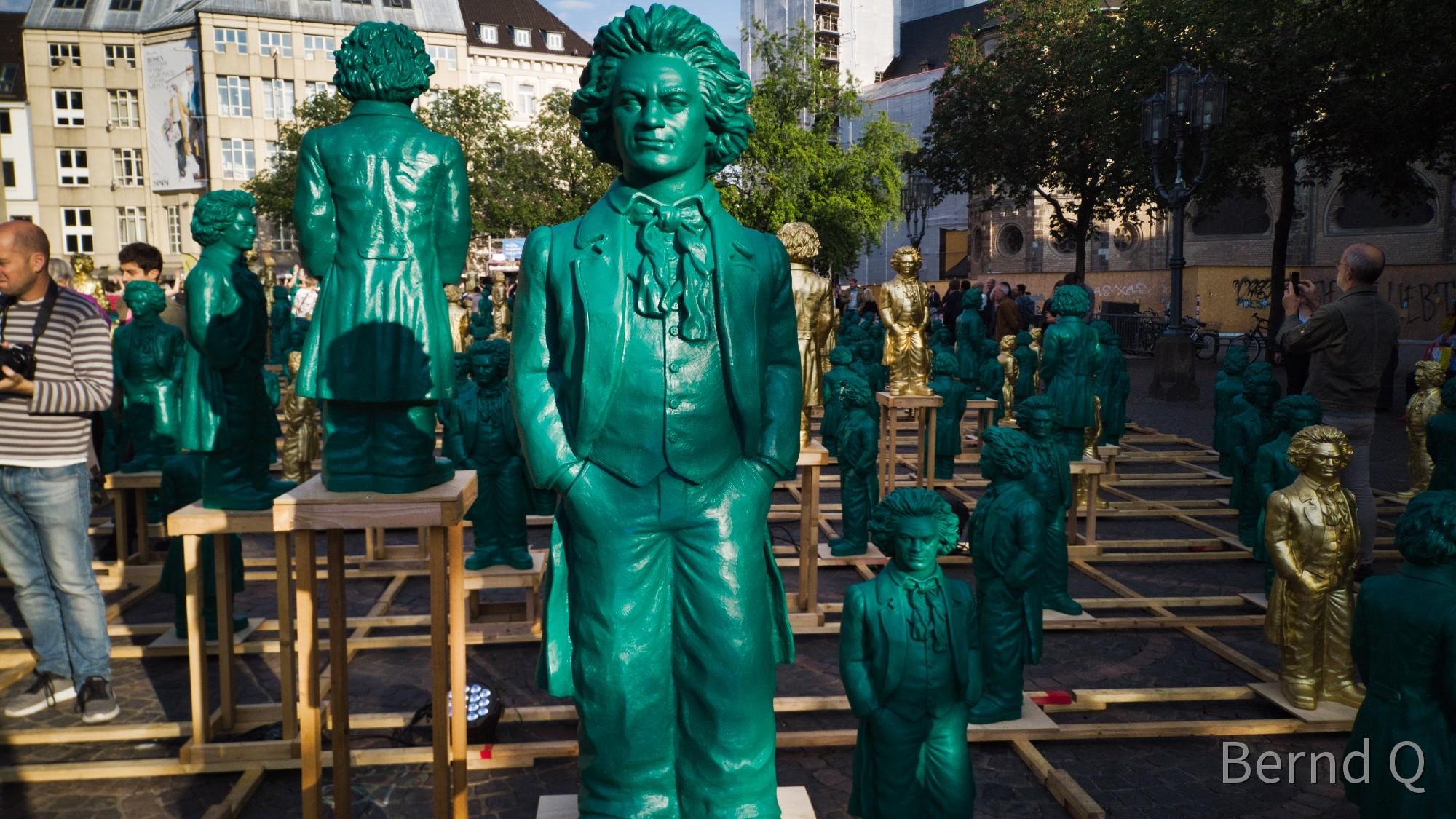 Beethoven in Grün
