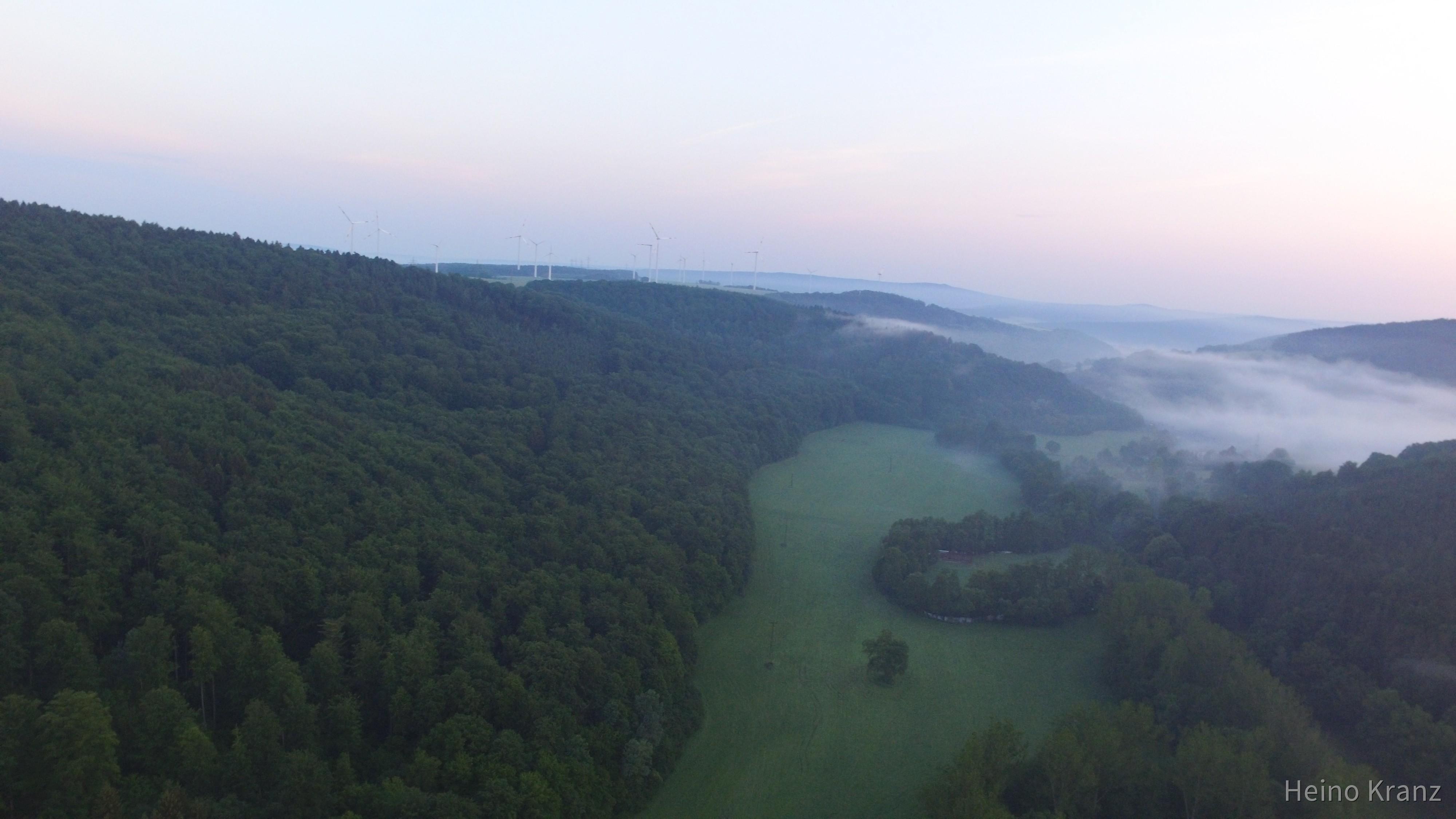 Morgennebel im Feldatal