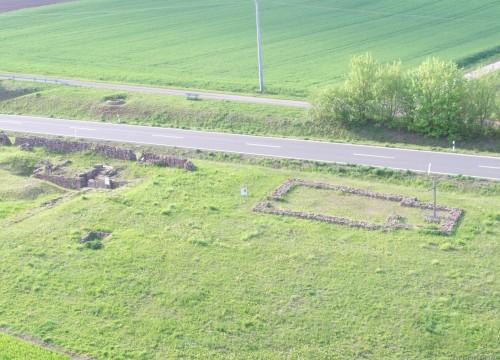 Ruinen bei Neuhof an der Zenn