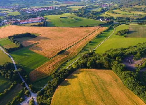Landschaftsaufnahmen in der Rhön