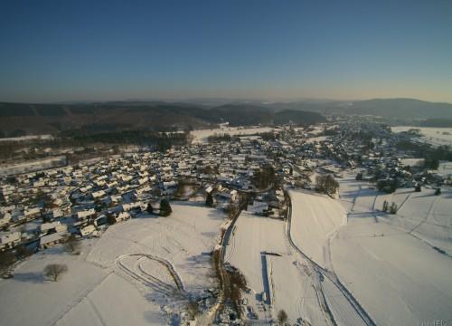 Müsen Hilchenbach im Schnee
