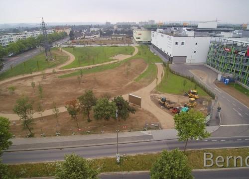 Ein neuer Park entsteht