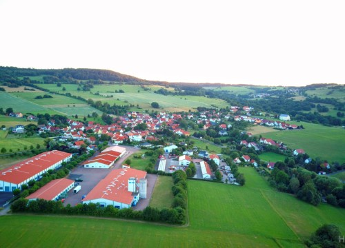 Abends in der Rhön , Empfertshausen