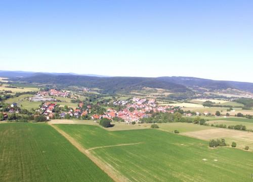 Empfertshausen in der Rhön im Herzen Thüringens
