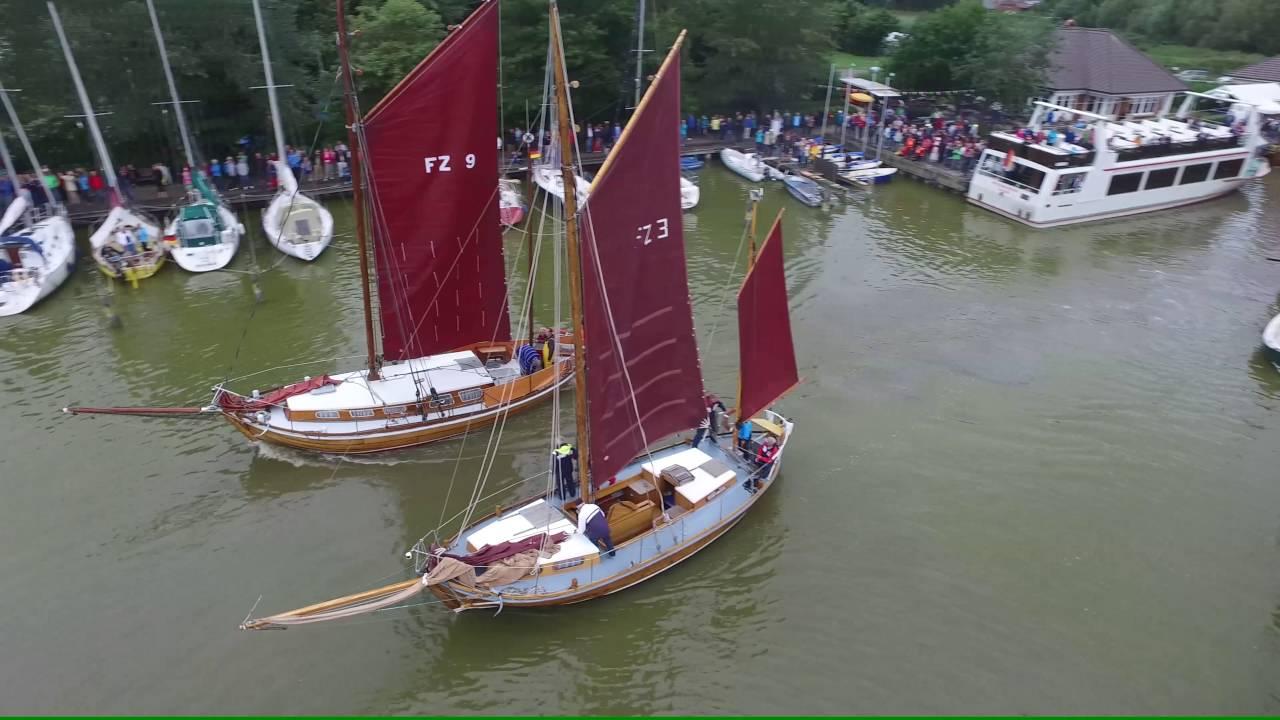 Zeesboot Regatta Wustow